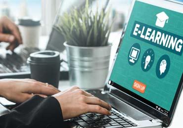 Advanced e-learning application