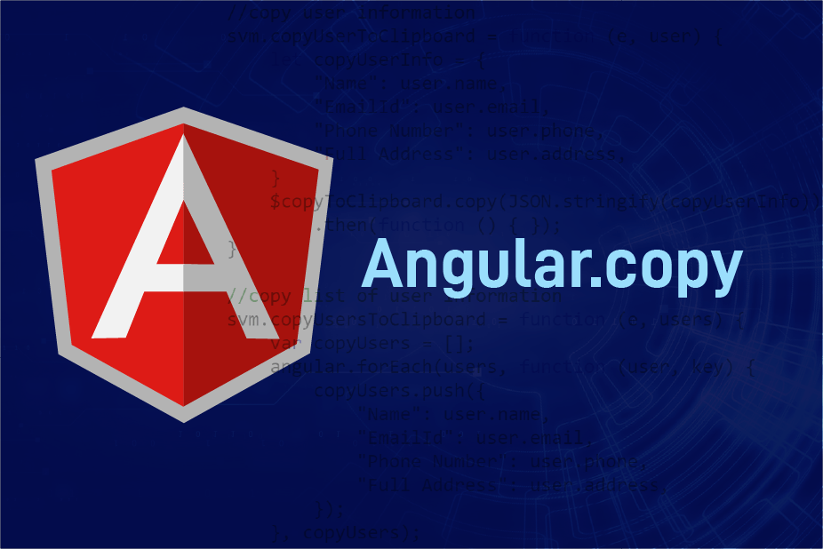 Angular Copy
