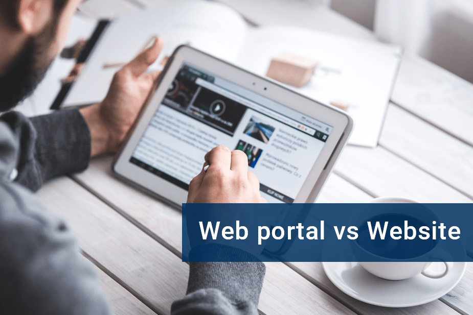 Web portal or Website?