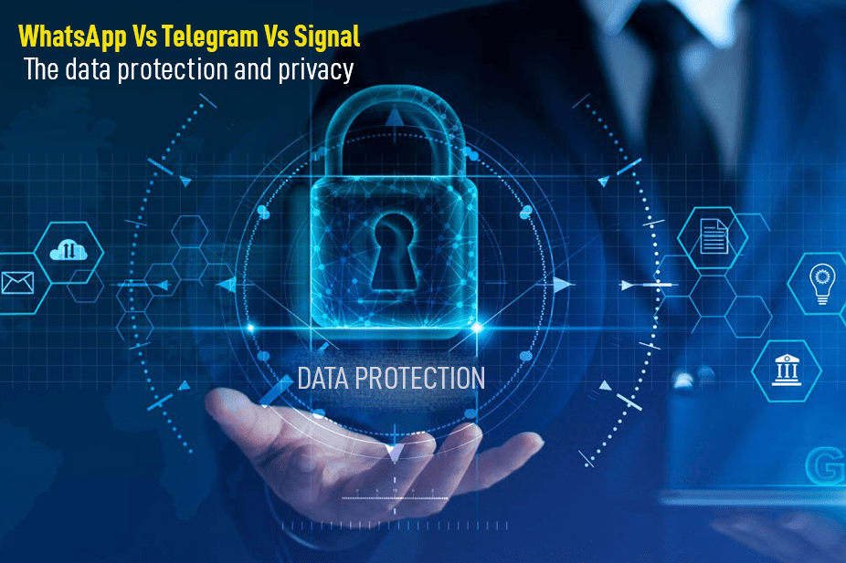 The data protection and privacy - WhatsApp Vs Telegram Vs Signal